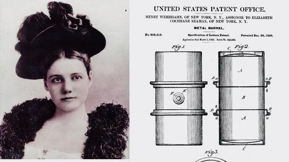 Women's History Month Highlight – Nellie Bly, Pioneer of the Metal Shipping Drum Industry